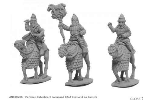 Parthian Cataphract Command (2nd Century) on Camels
