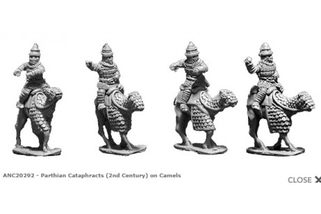 Parthian Cataphracts (2nd Century) on Camels