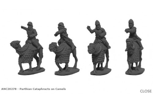 Parthian Cataphracts on Camels