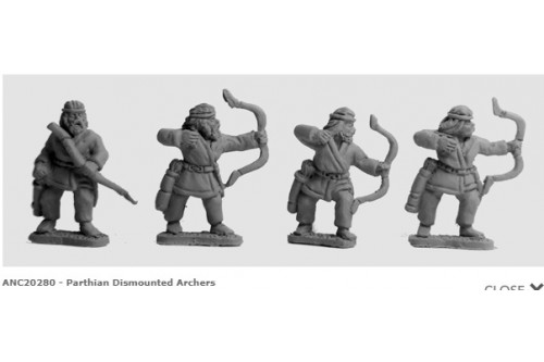 Parthian Dismounted Archers