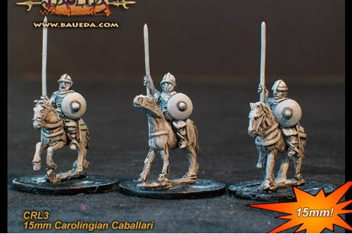 Frankish heavy horse archers  (4 mtd. Figures)