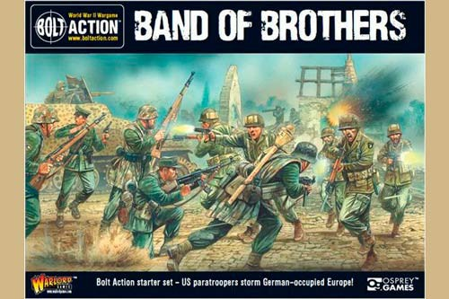 "Bolt Action 2 Starter Set ""Band of Brothers"" English"